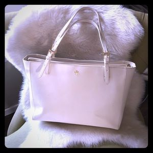 Tory Burch Large White York Tote